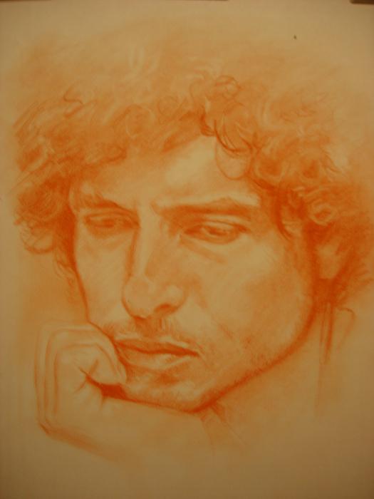 Bob Dylan by ceceach